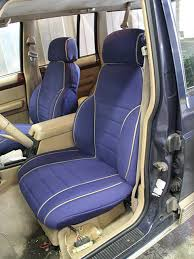 jeep grand wagoneer full piping seat