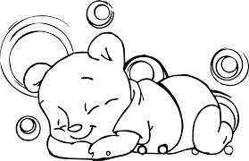 Small Picture coloring pages sleeping baby pig coloring page free printable