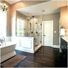 bath lighting ideas. Master Bathrooms Bathroom Lighting Ideas A Luxury Free Standing Tub Wood  Tile Floor Huge Double Bath . Hanging Light T