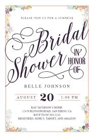 shower invitation templates calligraphy shower bridal shower invitation template free