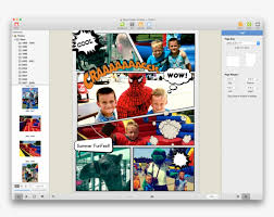 ic book themed free collage maker