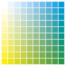 Yellow Cmyk Color Chart Cmyk Color Chart To Use In Prepress And Printing Used To