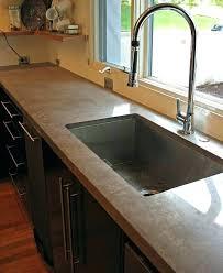 cost of concrete low average vs granite countertops s per square foot