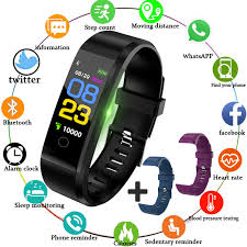 <b>LIGE 2019 New</b> Smart Sport Watch <b>Women</b> heart rate Blood ...