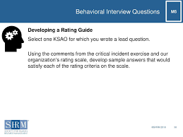 Examples Of Behavioral Interview Questions Which Of The Following Is An Example Of A Behavioral Interview