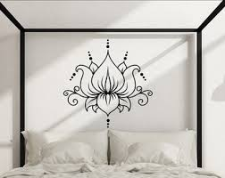 interesting ideas lotus wall art designing inspiration flower decor yoga studio symbol decal meditation boho bohemian on metal lotus flower wall art with lotus wall art turbid fo