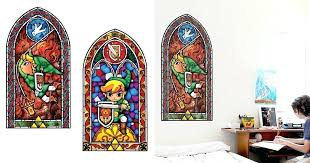stained glass decal stained glass wall decal stained glass clings for windows stained glass decal