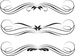 Decorative Design Fascinating Vector Decorative Design Elements Page Decor Stock Vector
