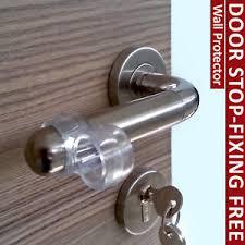 image is loading practical diy door stop wall tile protectors handle