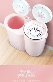 WEILI / Máy giặt mini mini đôi thùng thép không gỉ bán tự động đôi xi lanh  trẻ sơ sinh đặc biệt - May giặt | Lumtics
