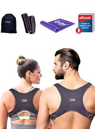 2019 Back Straightener Posture Corrector For Women And Men Shoulder Brace Back Posture Corrector For Men Upper Back Support And Neck Pain Relief
