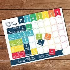Chore Chart Staples Chore Chart For Boys Kids Household Chore Chart Weekly
