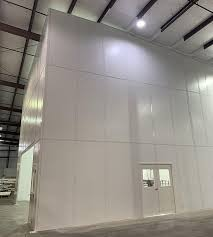 warehouse space with demising walls