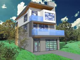 modern house cost 22 best skinny house design images on
