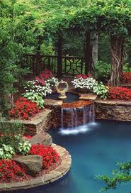 Small Picture 30 Beautiful Backyard Ponds And Water Garden Ideas Backyard