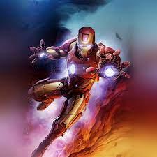bh56-ironman-hero-marvel-art-wallpaper