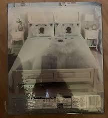 polar bear winter double duvet set