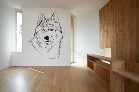wolf wall decal countrychicdecals com