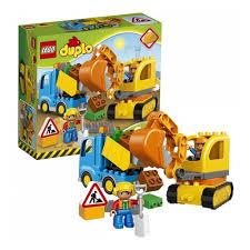 <b>Конструктор LEGO DUPLO Town</b> 10812 Грузовик и гусеничный ...