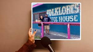 San antonio's folklores coffee house will give all christmas eve profits to its employees. Folklores Coffee House