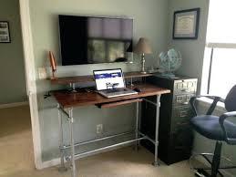 Pipe Diy Desk Riser Desks Tips Diy Stand Up Desk Riser Diy Adjustable Standing Desk Riser Alysonscottageut Diy Desk Riser Computer Monitor Riser Stand Diy Adjustable Desk