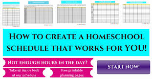 Daily Homeschool Schedule Template Homeschool Schedule Template Inspirational 25 Resource Planningour