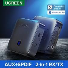 <b>UGREEN Bluetooth 5.0</b> Receiver Transmitter AptX HD For TV ...