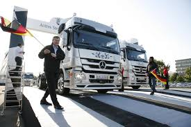 new car launches in germanyMercedesBenz Launches The New Actros With A 350 Unit Sendoff