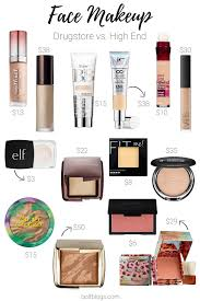 dupes for high end face makeup png