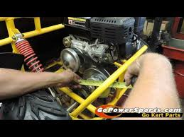 Torque Converter Belt Size Chart How To Measure For A Go Kart Drive Belt Youtube