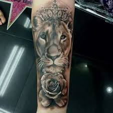 lioness with crown tattoo. Perfect With Only The Best Celebrity_ink_tattoo_phuket Lioness Lion Liontattoo  Roses Queen  To Lioness With Crown Tattoo O