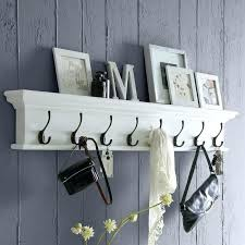 modern wall mounted coat rack with