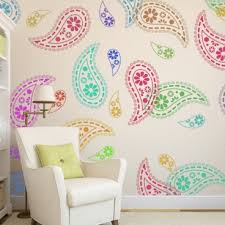 paisley stencil pattern reusable wall stencils for diy home decor on paisley wall art stencil with paisley stencil pattern reusable wall stencils for diy home decor