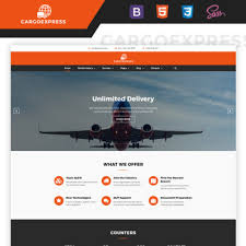 Website Templates Amazing Trucking Company Website Templates