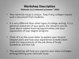 how to write the rationale essay how to organize writeyour rationale essay 2