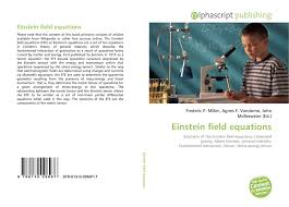 bookcover of einstein field equations