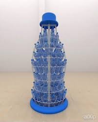 Mineral water display:  , ,    #industrialdesign #modernism #