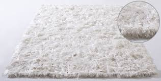 White wool shag rug Vibrissa White Shag Rug Modernrugscom Vibrissa White Shag Rug From The Shag Rugs Collection At Modern Area