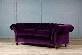 velvet chesterfield sofa. Exellent Velvet The Monty Velvet Chesterfield Sofa Intended