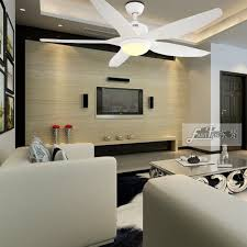 led light and five blades ceiling fan