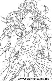 Anime Angel 3 Coloring Pages Printable