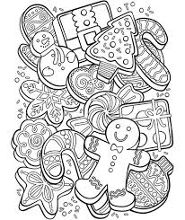 It develops small motility of hands. Christmas Cookie Collage Coloring Page Crayola Com