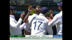 Shardul Thakur first debut test wicket ...