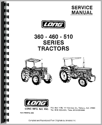 long 460 tractor service manual tractor manual tractor manual tractor manual