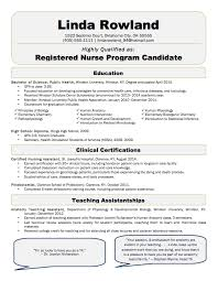 Resume Sample Best Nurse Resume Sample Resume Templates Free