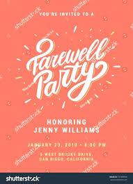 Invitation Cards For Farewell Party Printable Farewell Party Invitation Cards Download Them Or Print