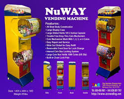 Toy Vending Machine Refills Impressive NuWay Japanese Style Capsule Toy Vending Machine NW48 TAC