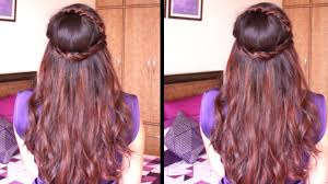 Hairband Hairstyle cute head band hairstyle hair tutorial youtube 4578 by wearticles.com