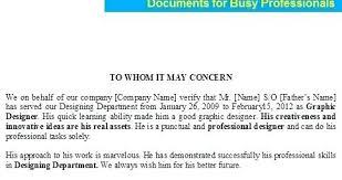 Experience Letter Format In Urdu Copy Experience Certificate Sample