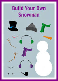Small Picture make your own snowman colouring pages page 2 inside Build Your Own